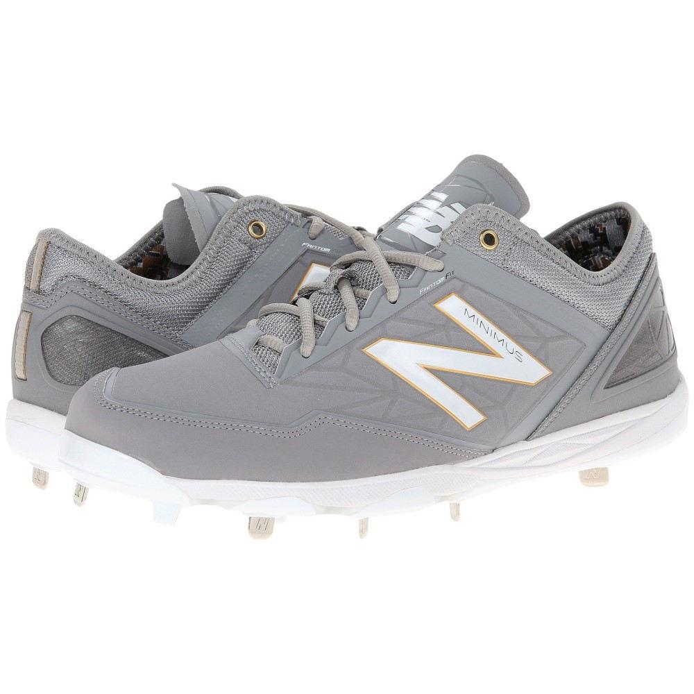 ニューバランス メンズ 野球 シューズ・靴【MBB】Grey