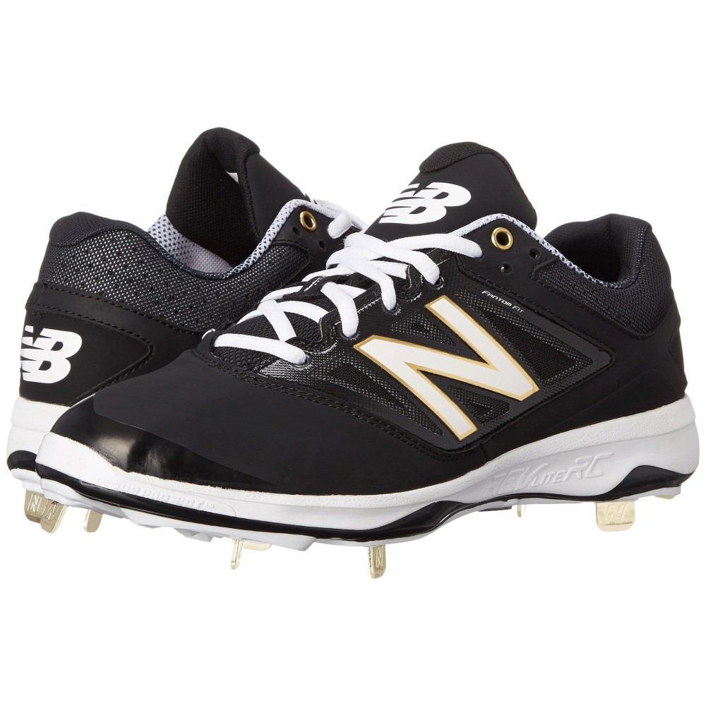 ニューバランス メンズ 野球 シューズ・靴【4040v3 Low】Black/Black