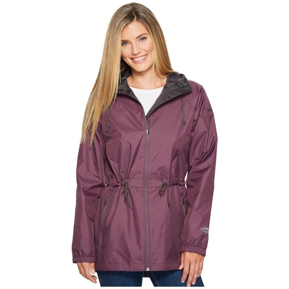 コロンビア レディース アウター レインコート【Arcadia Casual Jacket】Dusty Purple