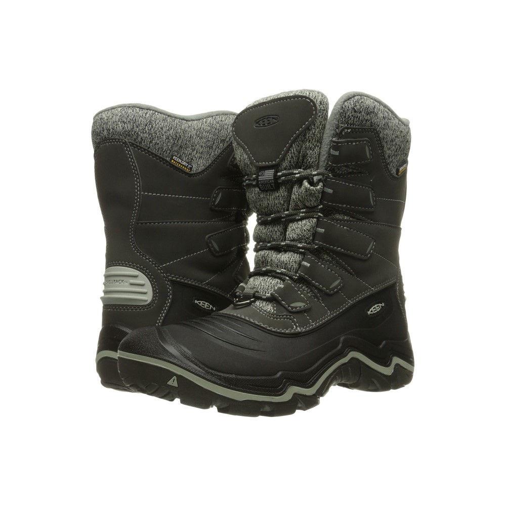【本物保証】 キーン レディース レディース ハイキング・登山 シューズ・靴【Durand Polar Shell】Beluga/Desert Sage, ふとん館HAPPYHOME:30d49cc6 --- hortafacil.dominiotemporario.com