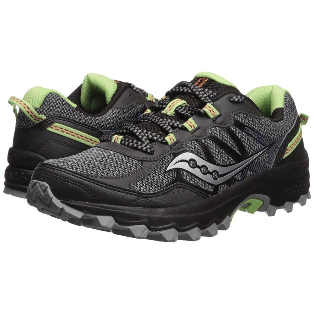 サッカニー レディース ランニング・ウォーキング シューズ・靴【Excursion TR11】Black/Lime