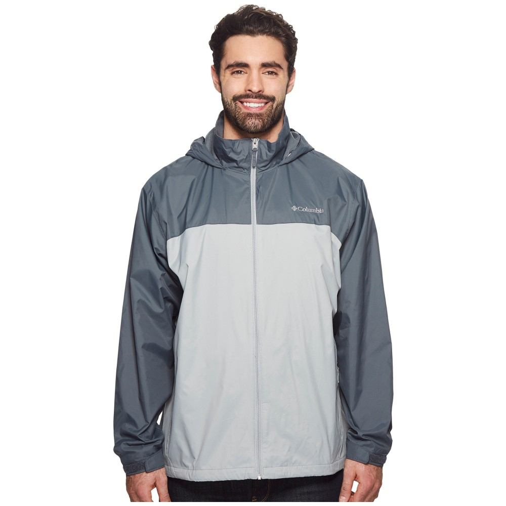 コロンビア メンズ アウター レインコート【Big & Tall Glennaker Lake Lined Rain Jacket】Columbia Grey/Graphite