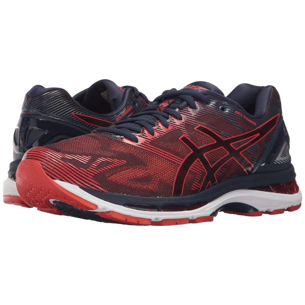 アシックス メンズ ランニング・ウォーキング シューズ・靴【GEL-Nimbus 19】Peacoat/Red Clay/Peacoat