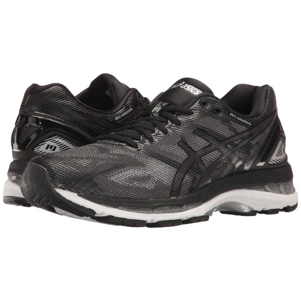 アシックス レディース ランニング・ウォーキング シューズ・靴【GEL-Nimbus 19】Black/Onyx/Silver