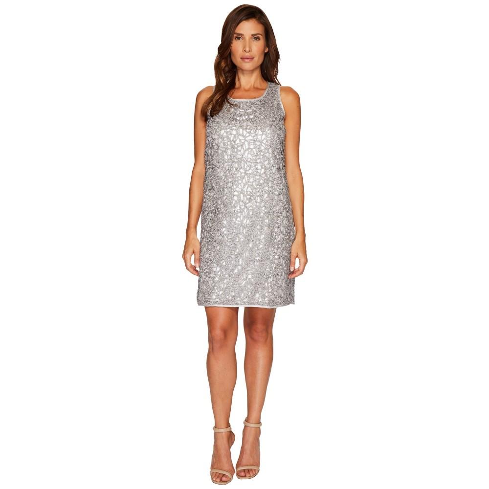 ニックゾー レディース ワンピース・ドレス ワンピース【Metallic Lace Dress】Silver