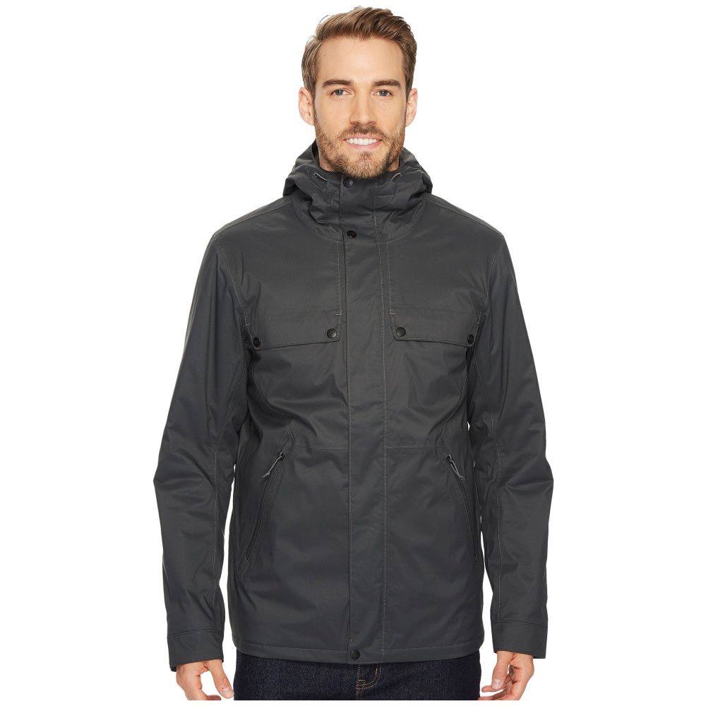 ザ ノースフェイス メンズ アウター レインコート【Insulated Jenison Jacket】Asphalt Grey