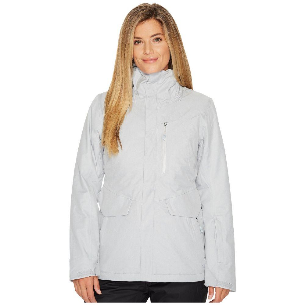 ザ ノースフェイス レディース スキー・スノーボード アウター【ThermoBall Snow Triclimate Jacket】TNF Light Grey Heather