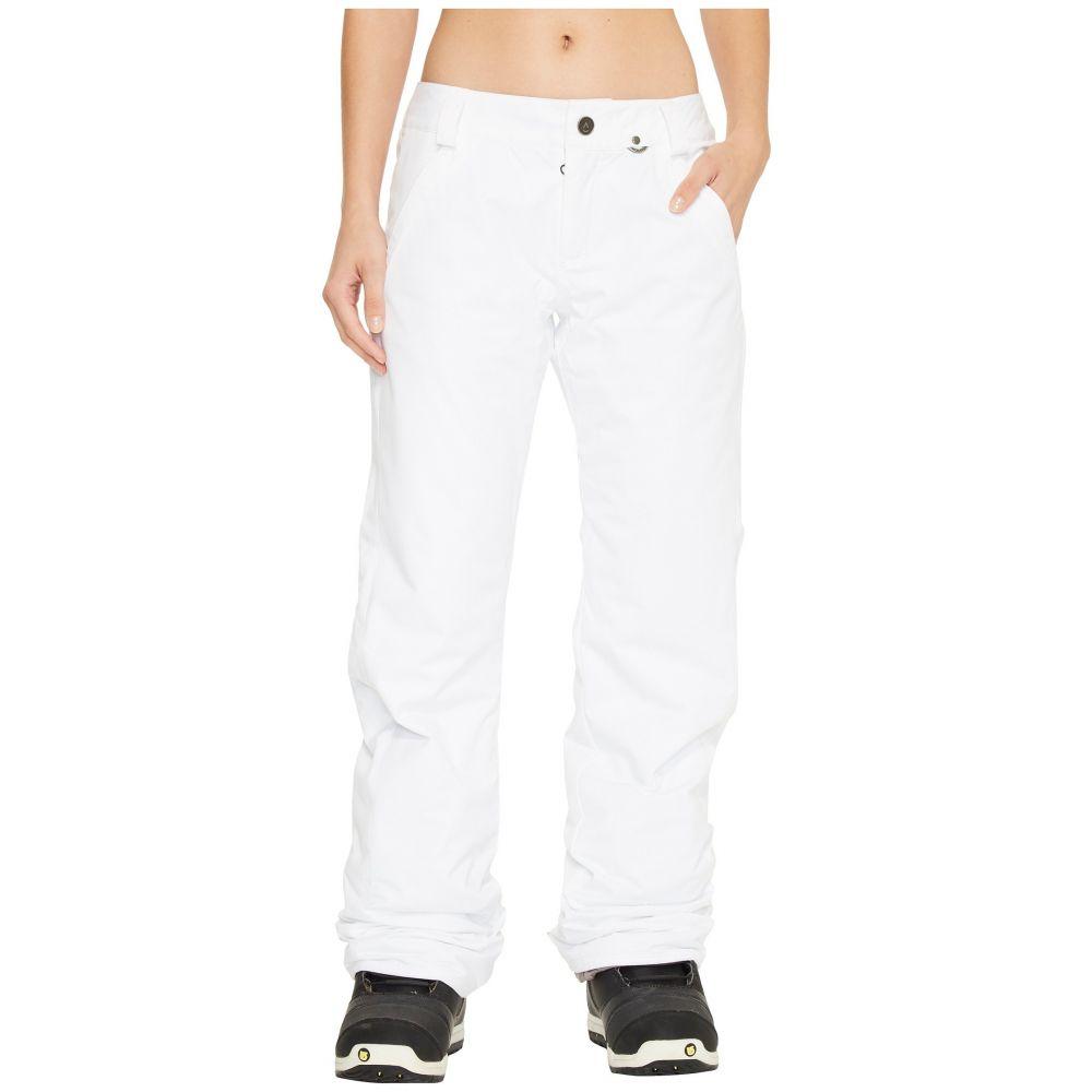 ボルコム レディース スキー・スノーボード ボトムス・パンツ【Frochickie Insulated Pants】White