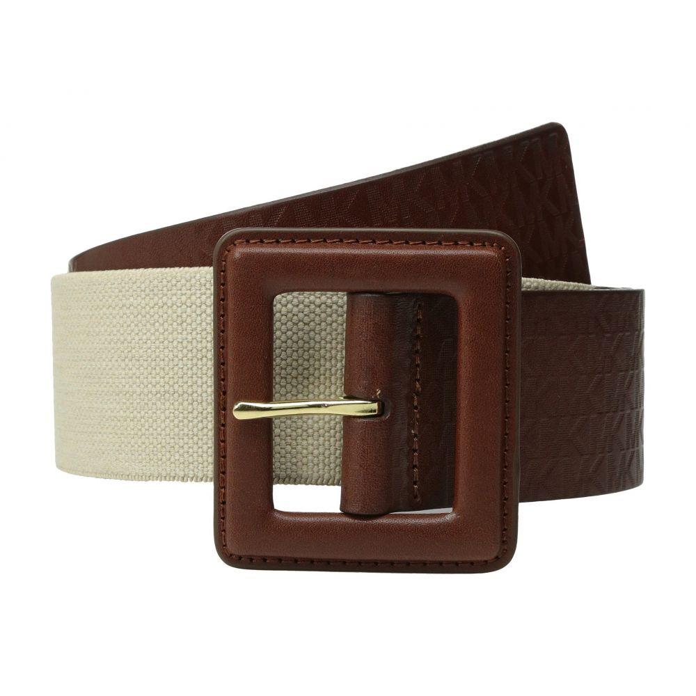 マイケル コース レディース ベルト【50mm Monogram Panel Belt on Self Cover Buckle】Luggage