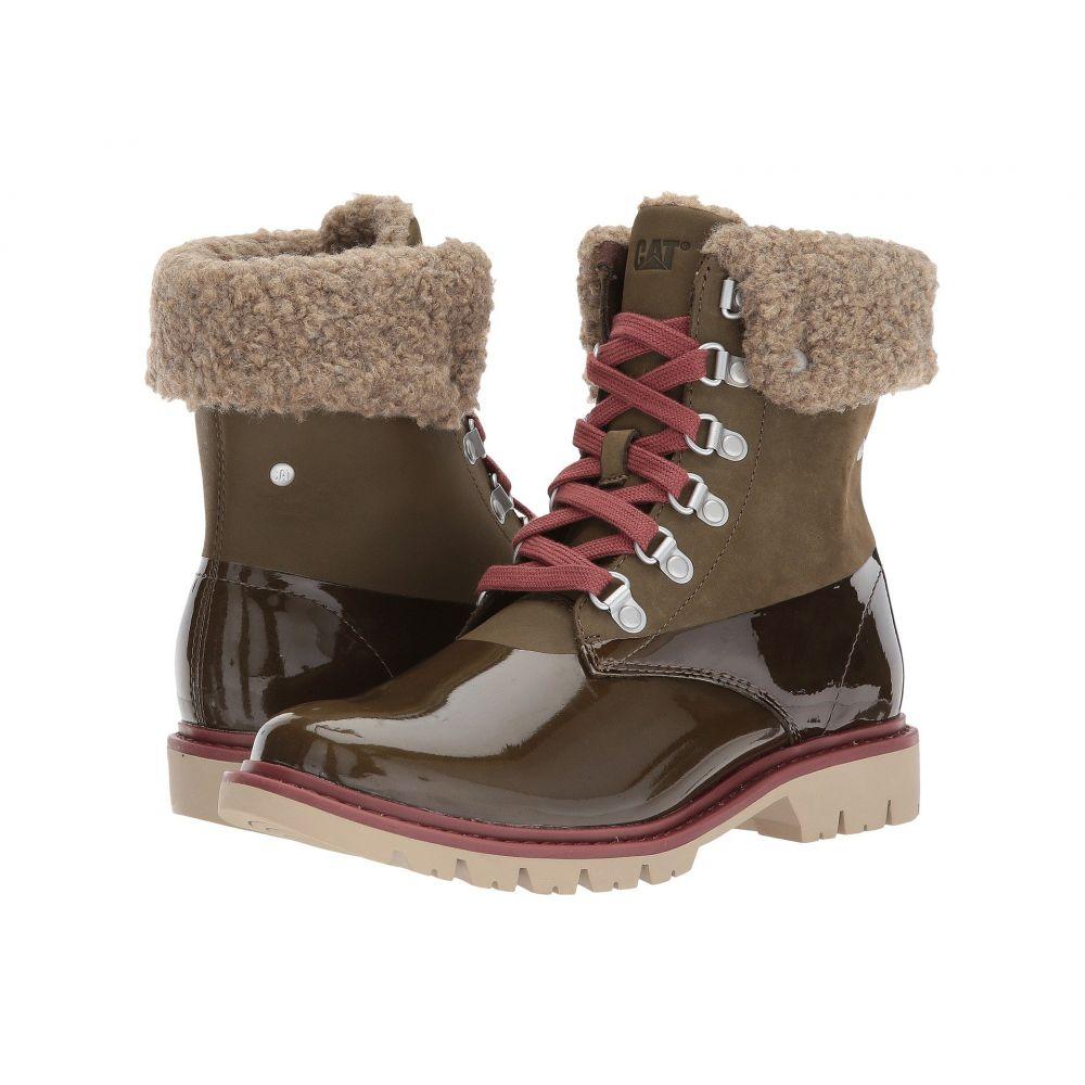 キャピタラー カジュアル レディース ハイキング・登山 シューズ・靴【Hub Hiker Fur】Dark Olive