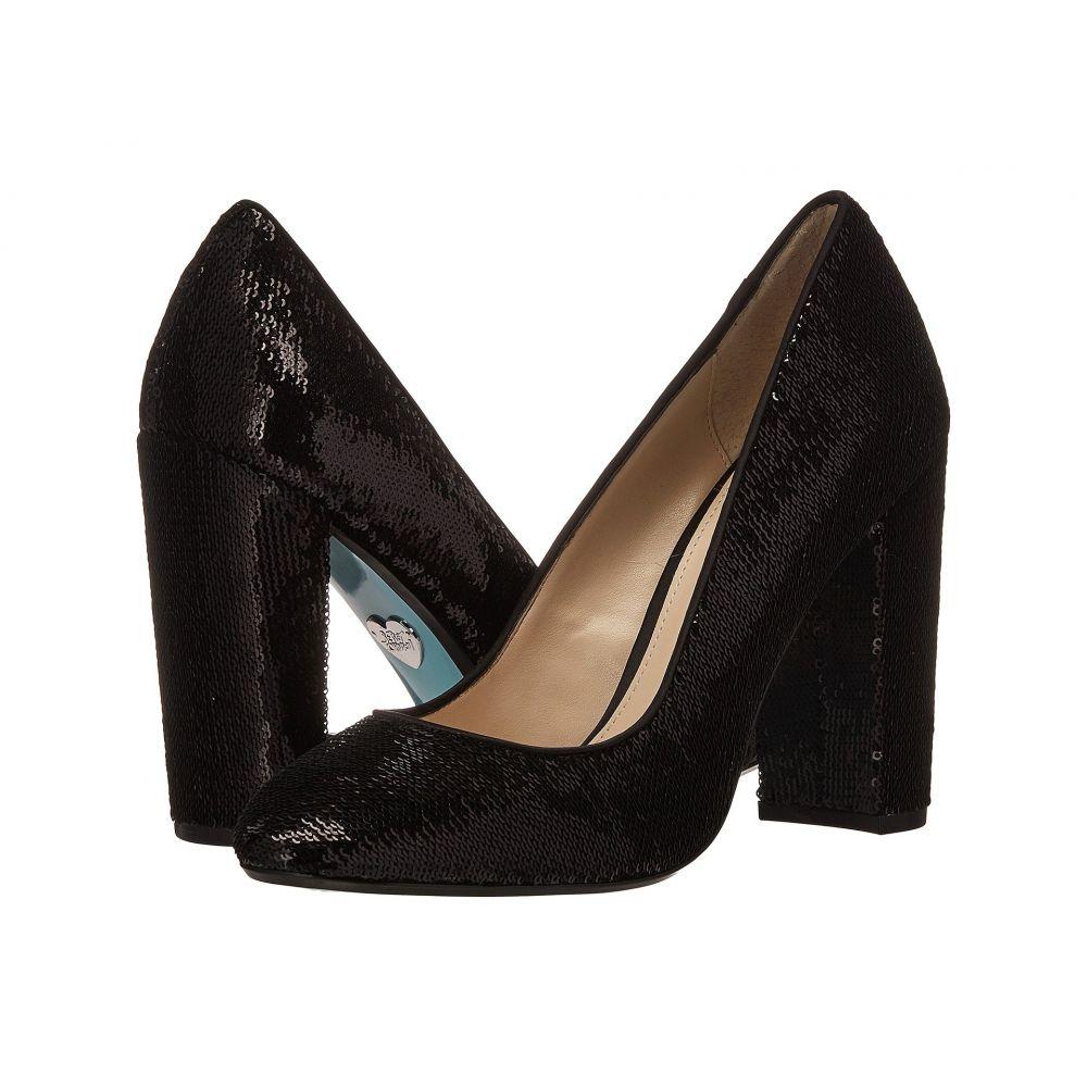ベッツィ ジョンソン レディース シューズ・靴 パンプス【Lou】Black Sequin