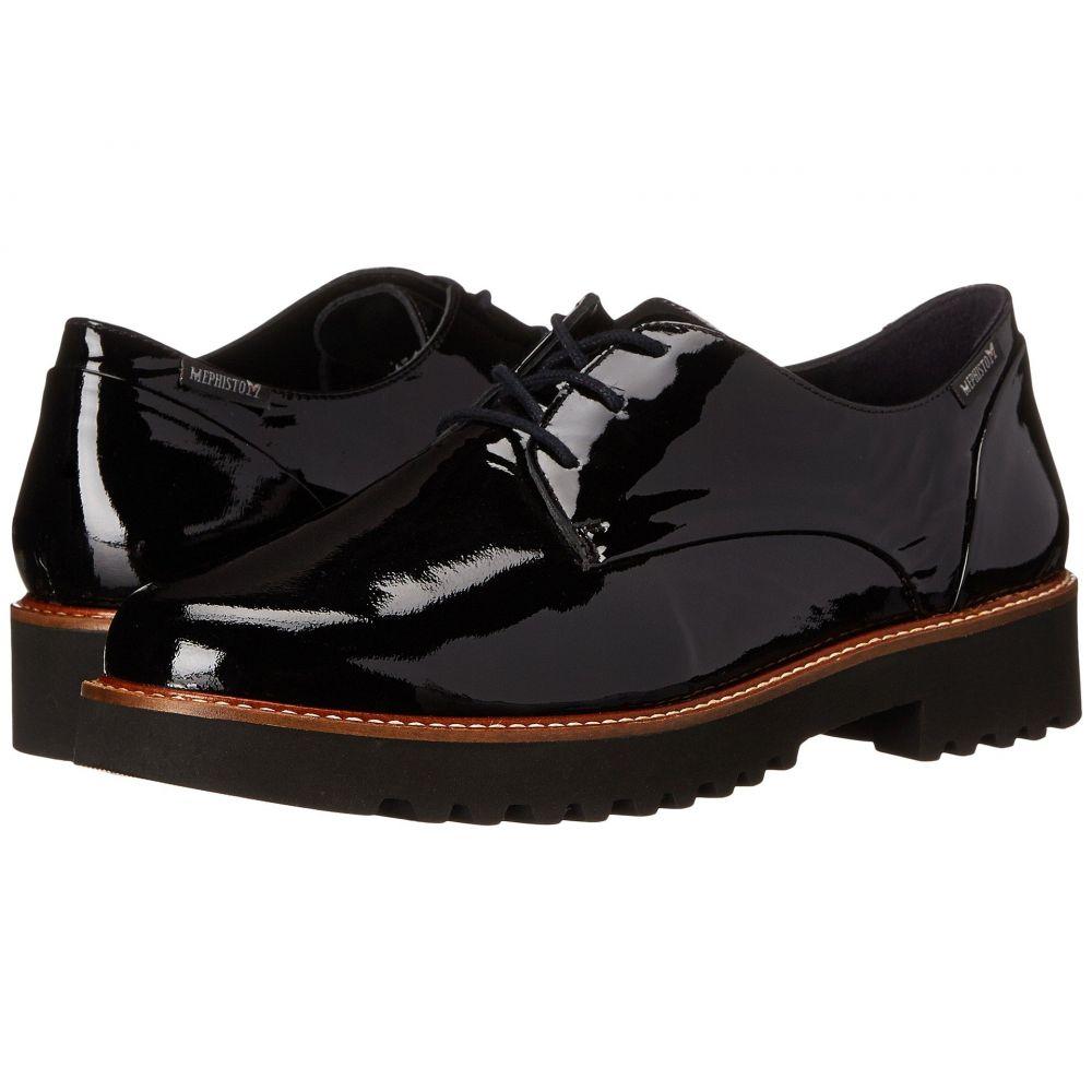 メフィスト レディース シューズ・靴 ローファー・オックスフォード【Sabatina】Black Patent