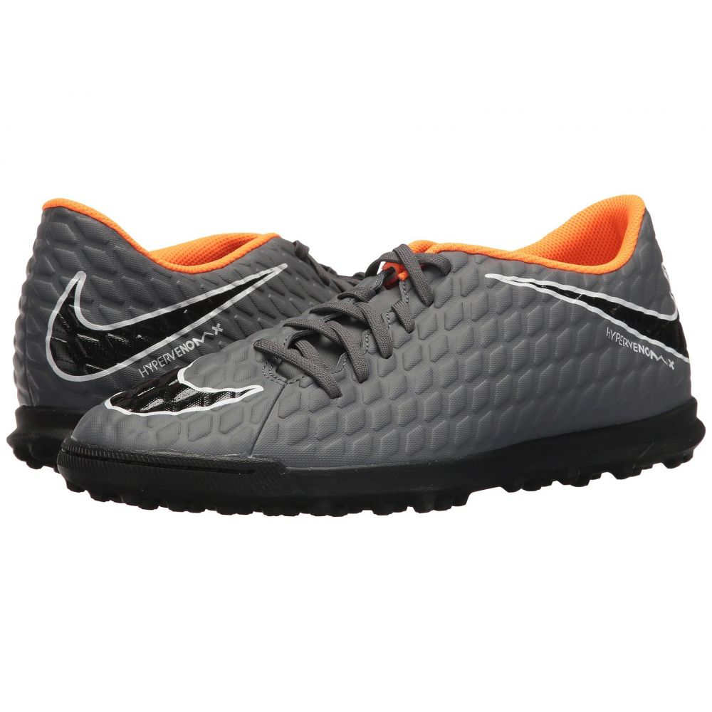 ナイキ メンズ サッカー シューズ・靴【Hypervenom PhantomX 3 Club TF】Dark Grey/Total Orange/White
