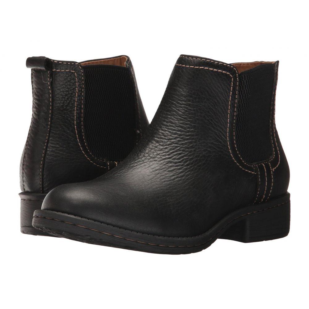コンフォーティヴァ レディース シューズ・靴 ブーツ【Salara】Black Wild Steer