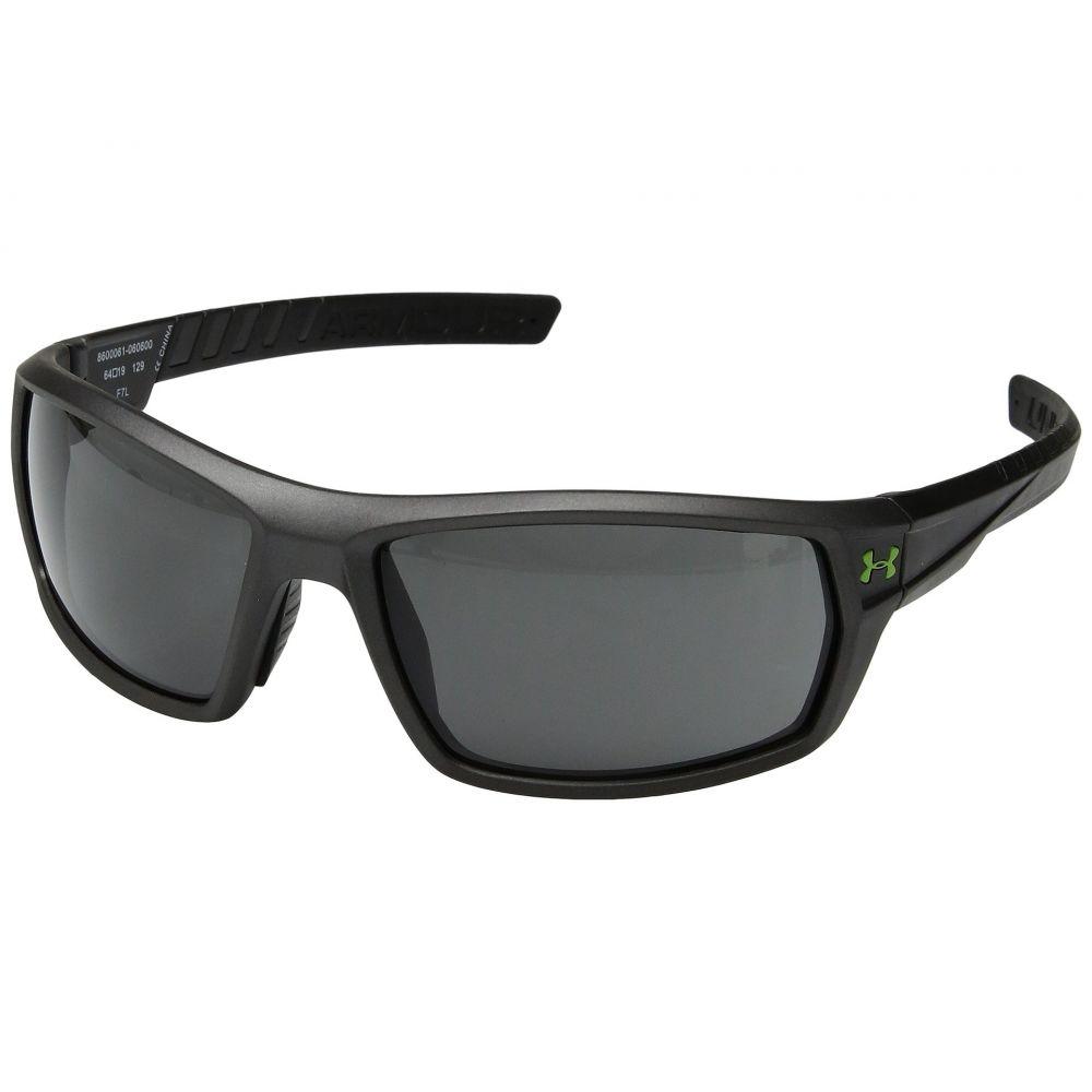 史上最も激安 アンダーアーマー メンズ スポーツサングラス【UA Ranger】Satin Carbon Frame/Black Rubber/Gray Lens, アマダグン af6c06dd