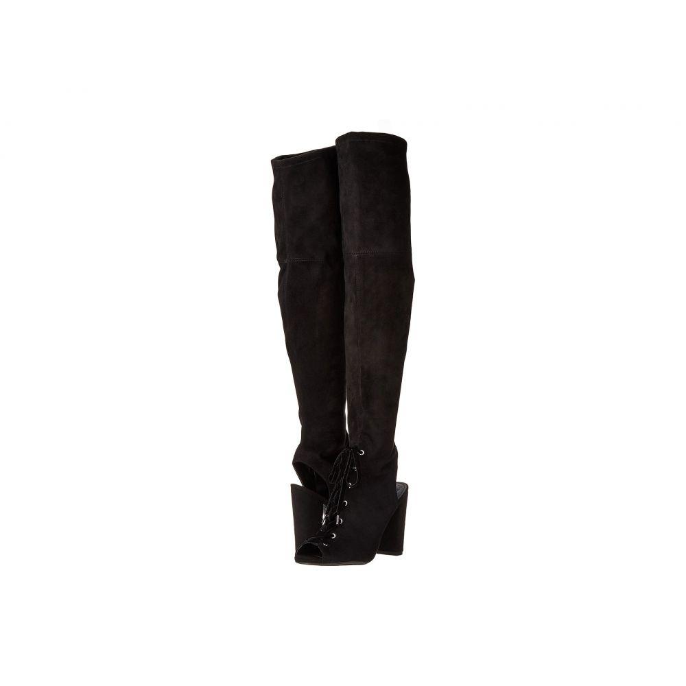 ゲス レディース シューズ・靴 ブーツ【Calene】Black Fabric