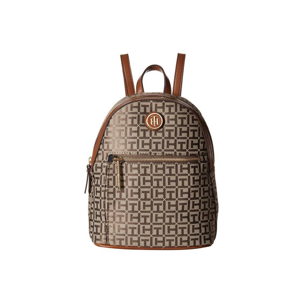 トミー ヒルフィガー レディース バッグ バックパック・リュック【Geneva Backpack】Tan/Dark Chocolate