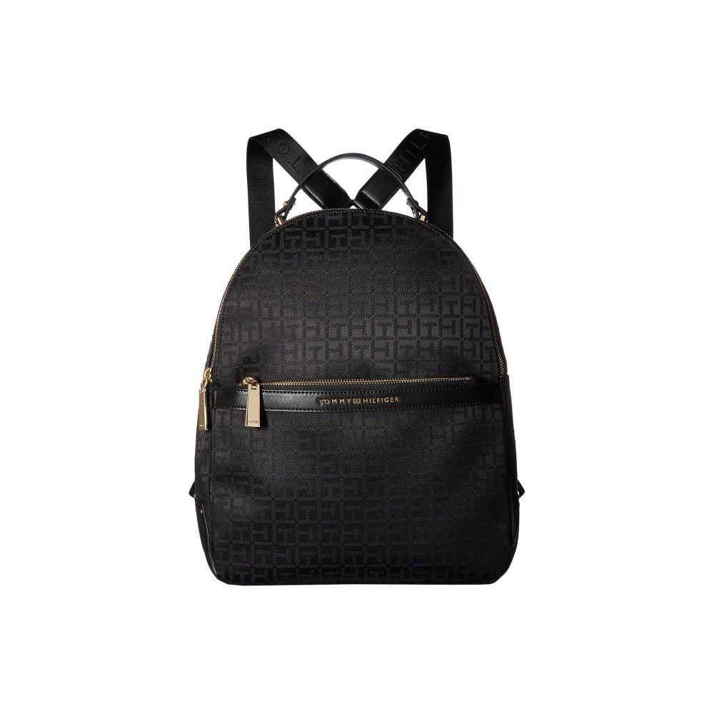 トミー ヒルフィガー レディース バッグ バックパック・リュック【Abington Large Backpack】Black Tonal