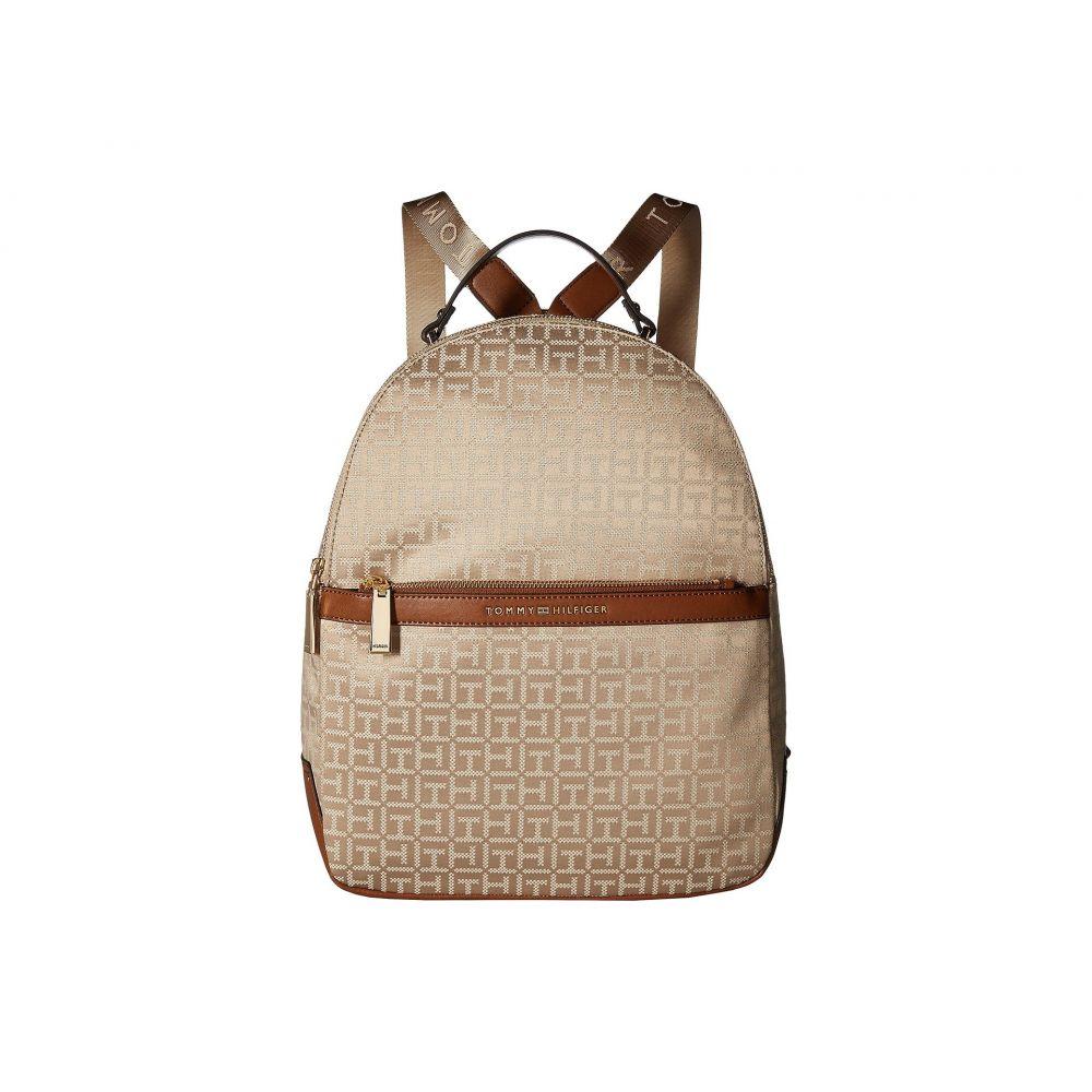 トミー ヒルフィガー レディース バッグ バックパック・リュック【Abington Large Backpack】Khaki Tonal