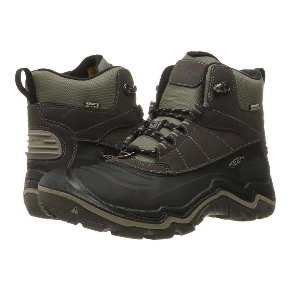 【ご予約品】 キーン メンズ ハイキング・登山 メンズ シューズ キーン Olive/Brindle・靴【Durand Polar Shell】Black Olive/Brindle, 金城町:1eb9dda5 --- konecti.dominiotemporario.com