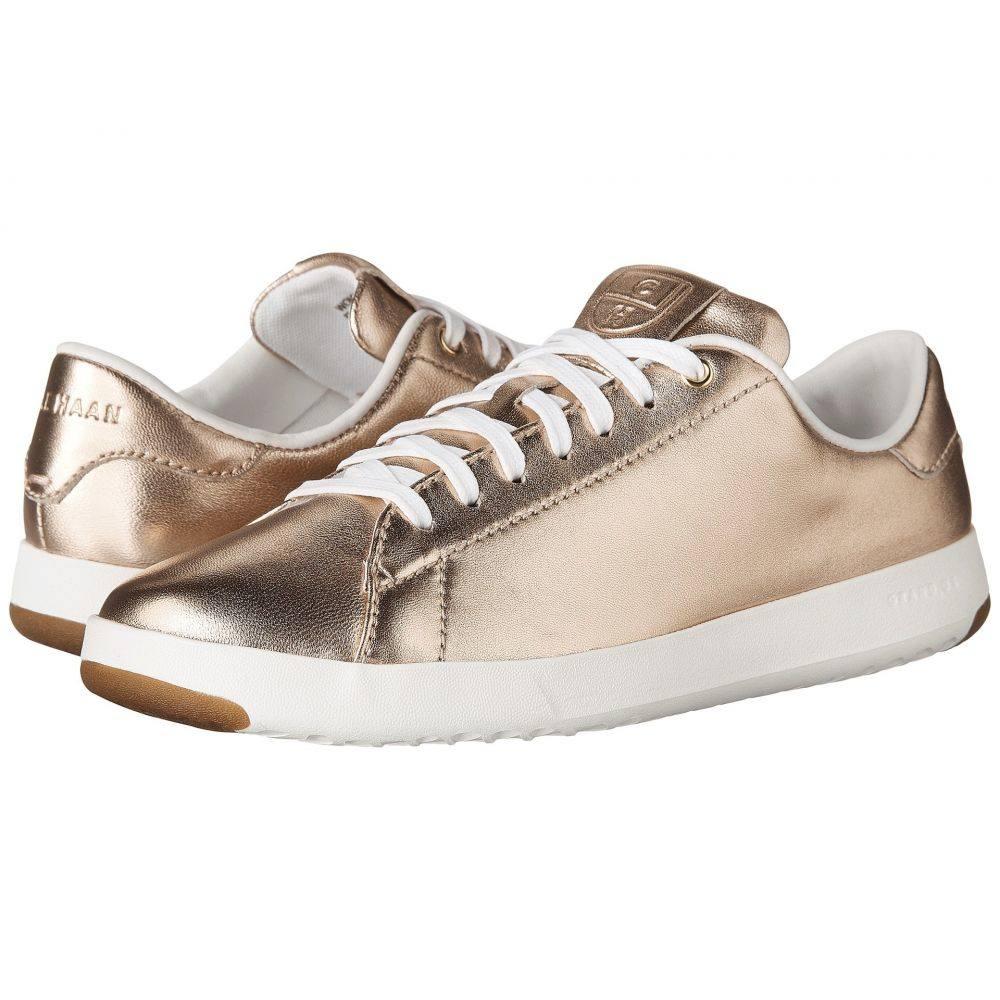 コールハーン レディース テニス シューズ・靴【Grandpro Tennis】Metallic Rose Gold/Optic White