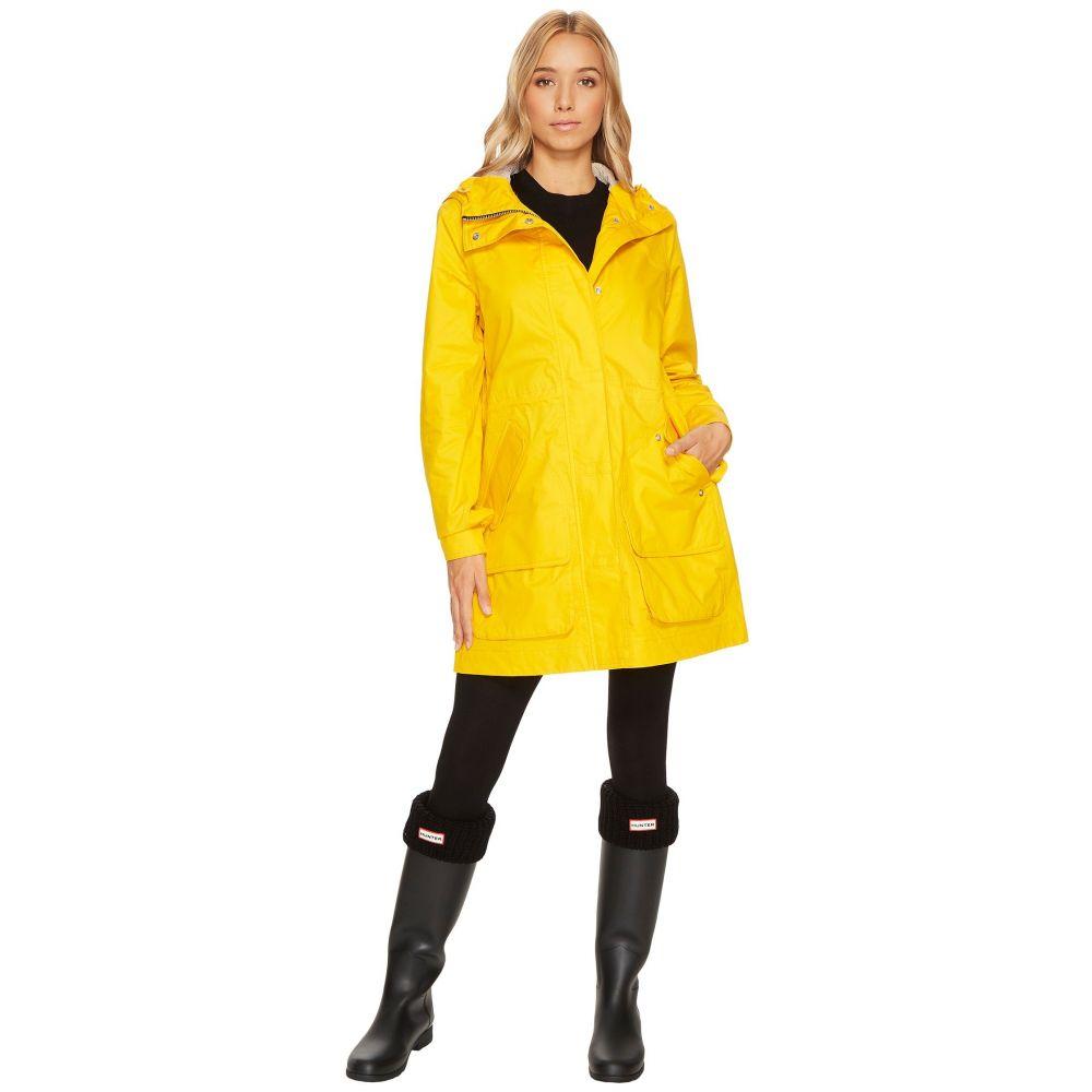ハンター レディース アウター レインコート【Original Cotton Hunting Coat】Yellow