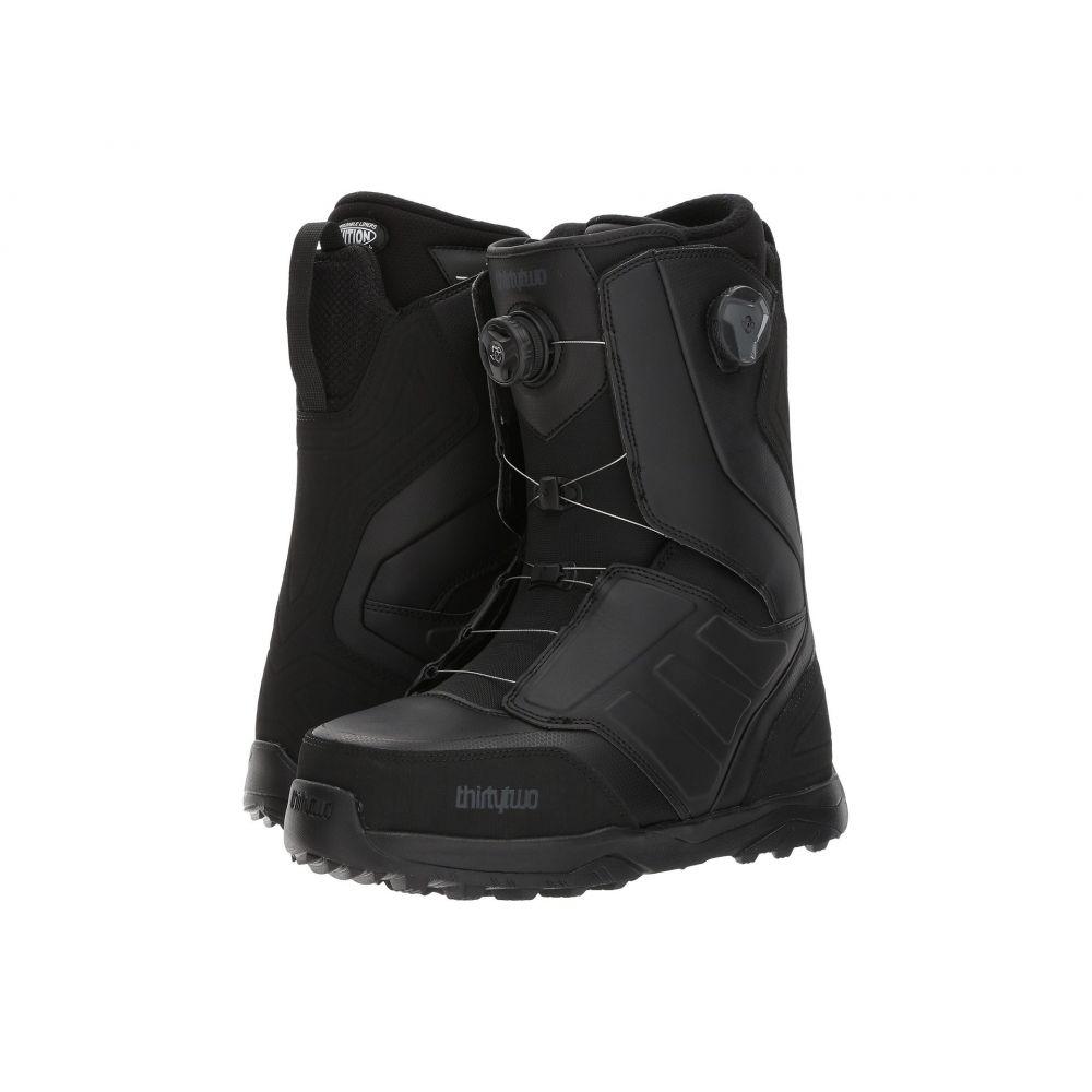 サーティーツー メンズ ハイキング・登山 シューズ・靴【Lashed Double Boa '17】Black