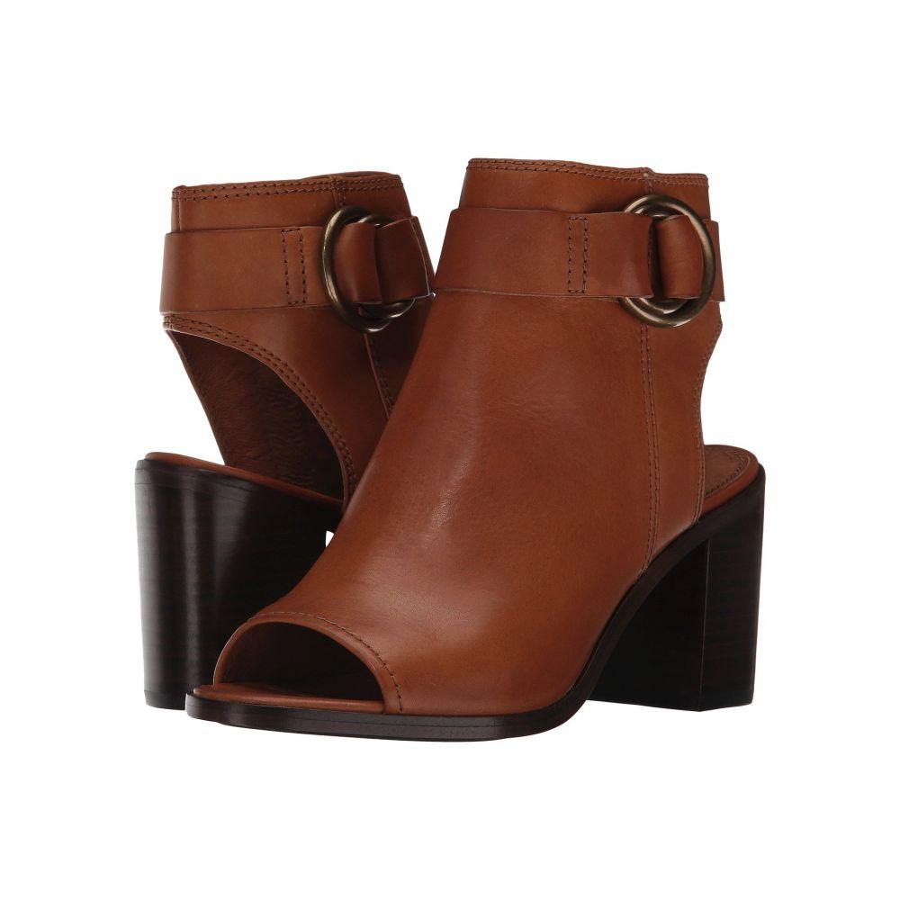 フライ レディース シューズ・靴 サンダル・ミュール【Danica Harness】Brown Smooth Vintage Leather