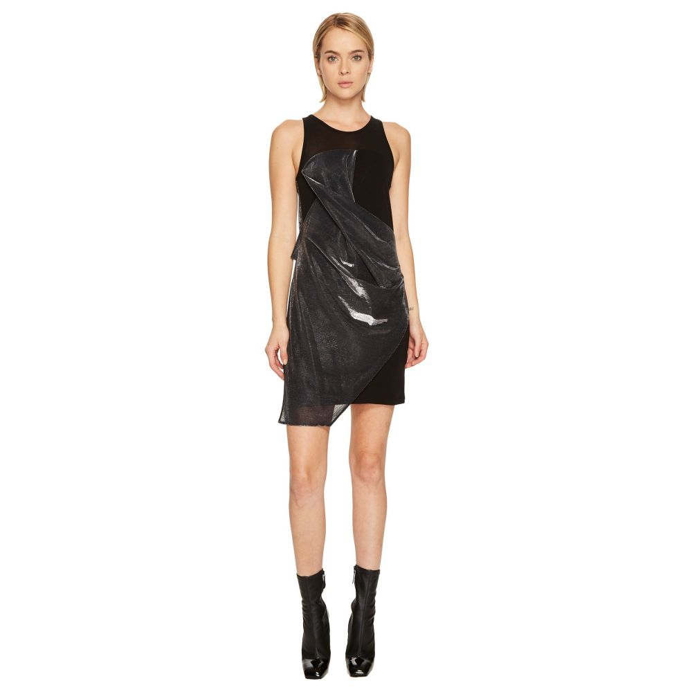 ヴェルサーチ レディース ワンピース・ドレス ワンピース【Abito Donna Jersey】Black/Silver