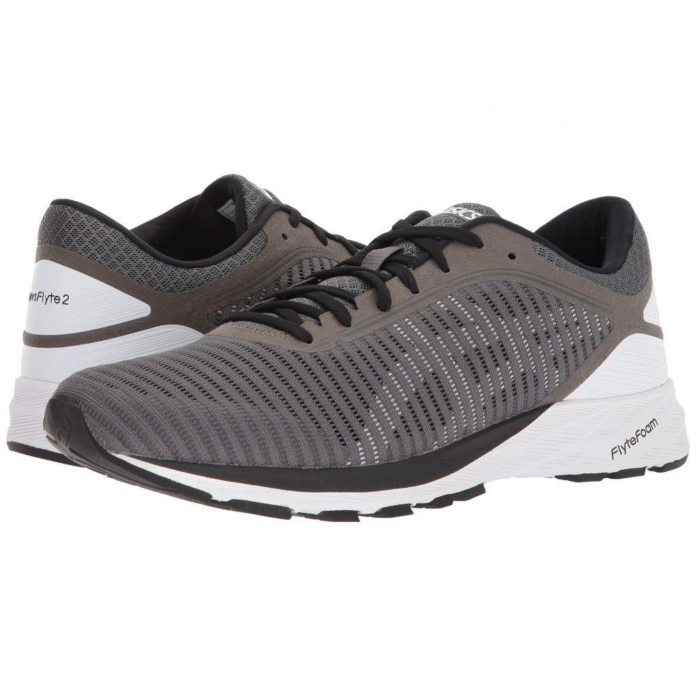アシックス メンズ ランニング・ウォーキング シューズ・靴【DynaFlyte 2】Carbon/White/Black