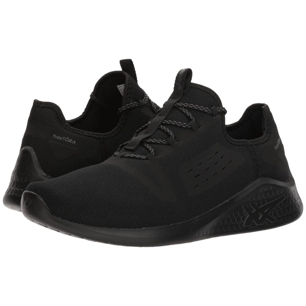 アシックス メンズ ランニング・ウォーキング シューズ・靴【fuzeTORA】Black/Black/Carbon