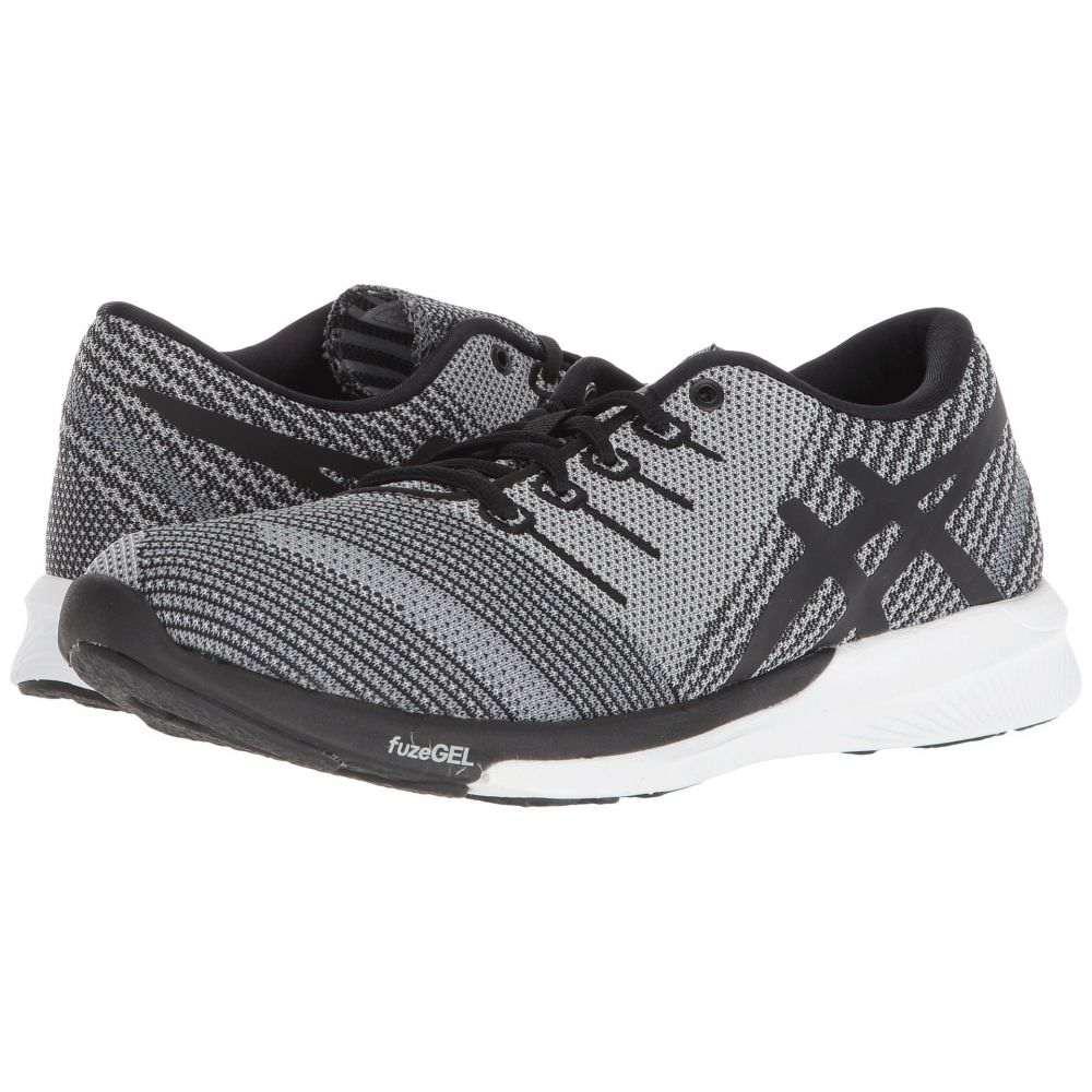 アシックス レディース ランニング・ウォーキング シューズ・靴【fuzeX Knit】Carbon/Black/White
