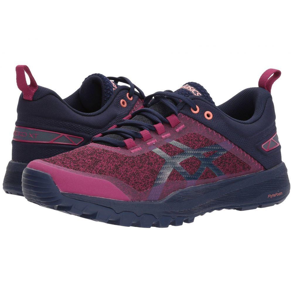 アシックス レディース ランニング・ウォーキング シューズ・靴【Gecko XT】Baton Rouge/Indigo Blue/Begonia Pink