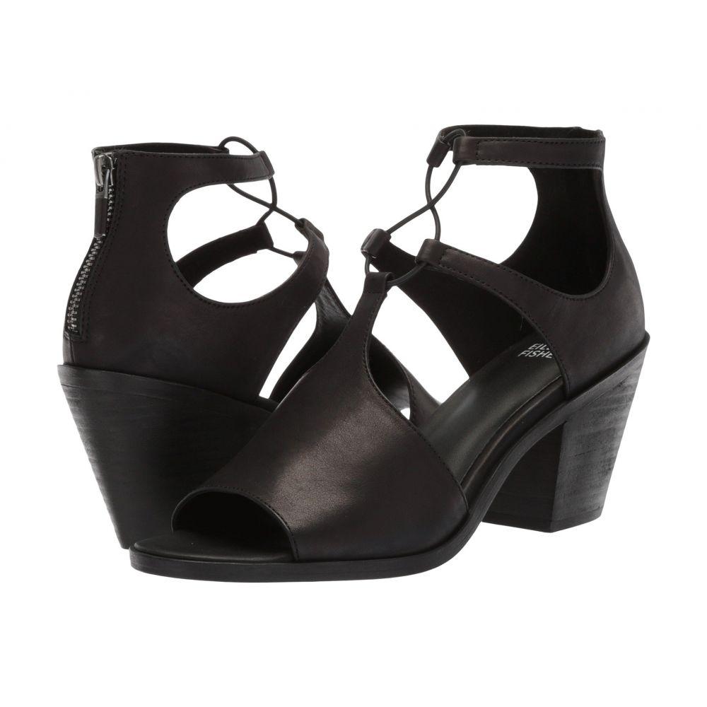 アイリーンフィッシャー レディース シューズ・靴 サンダル・ミュール【Lou】Black Washed Leather