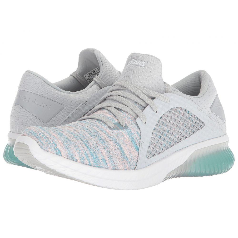 アシックス レディース ランニング・ウォーキング シューズ・靴【GEL-Kenun Knit】Aruba Blue/Glacier Grey/White