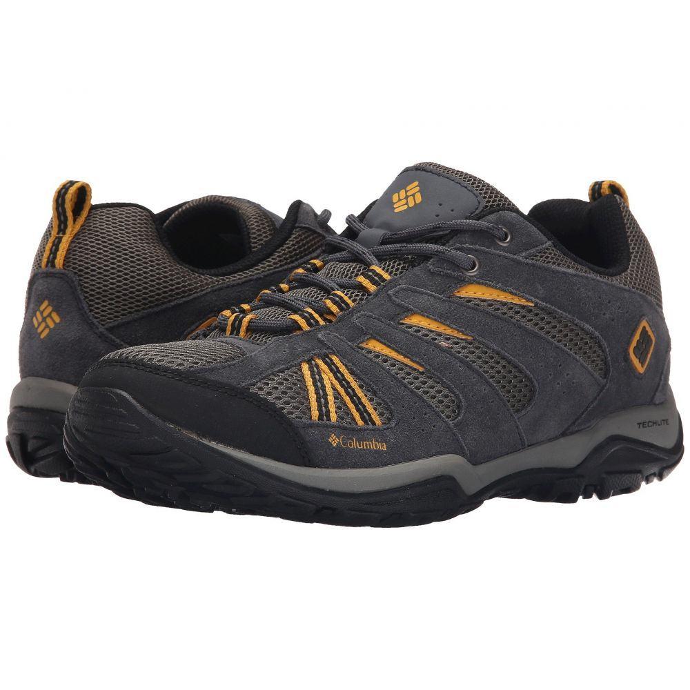 コロンビア メンズ ハイキング・登山 シューズ・靴【North Plains Drifter】Charcoal/Golden Yellow