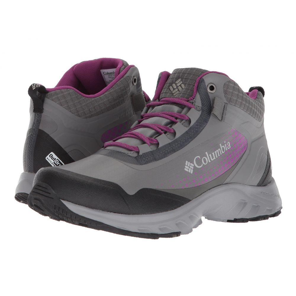 コロンビア レディース ハイキング・登山 シューズ・靴【Irrigon Trail Mid Outdry XTRM】Titanium MHW/Intense Violet