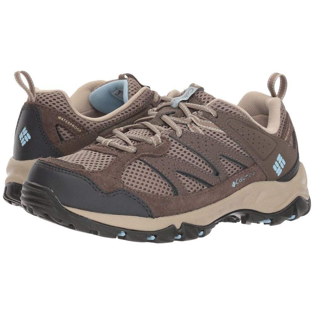 コロンビア レディース ハイキング・登山 シューズ・靴【Plains Ridge Waterproof】Pebble/Oxygen