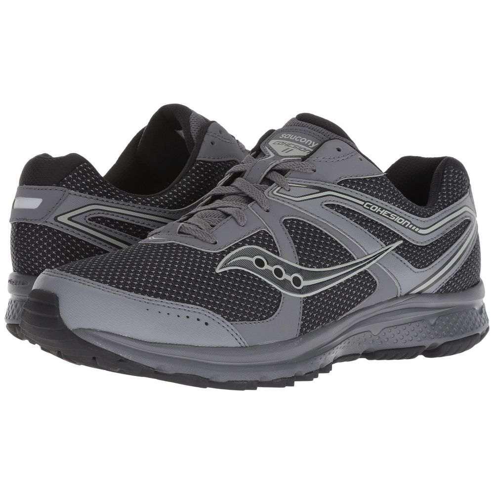 サッカニー メンズ ランニング・ウォーキング シューズ・靴【Grid Cohesion TR 11】Charcoal/Black