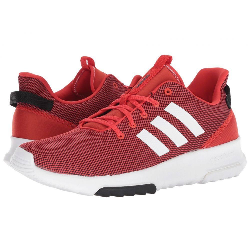 アディダス メンズ ランニング・ウォーキング シューズ・靴【Cloudfoam Racer TR】Scarlet/Footwear White/Core Red