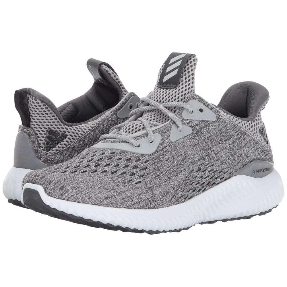 アディダス レディース ランニング・ウォーキング シューズ・靴【Alphabounce EM】Grey Five/Grey Two/Footwear White
