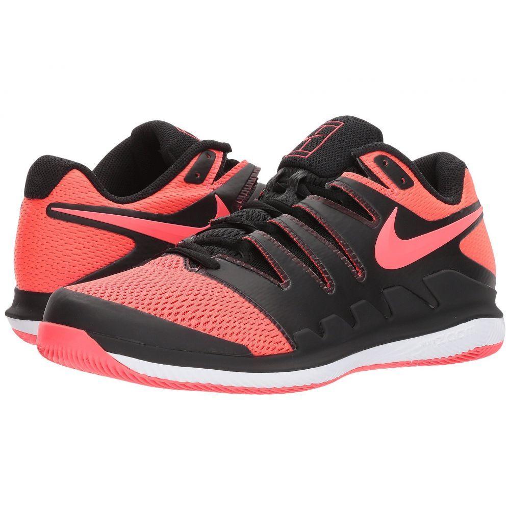 ナイキ メンズ テニス シューズ・靴【Air Zoom Vapor X】Black/Solar Red/White