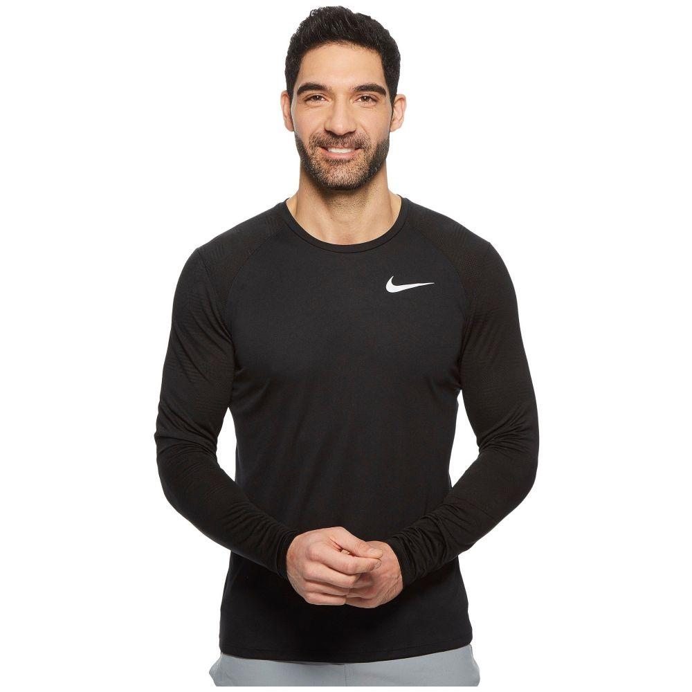 ナイキ メンズ ランニング・ウォーキング トップス【Dry Miler Long-Sleeve Running Top】Black
