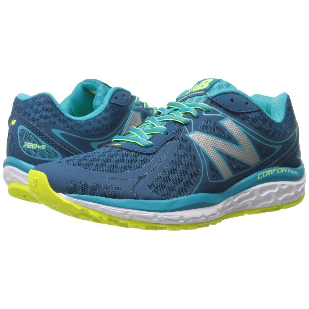 ニューバランス レディース ランニング・ウォーキング シューズ・靴【W720v3】Sea Glass/Hi-Lite