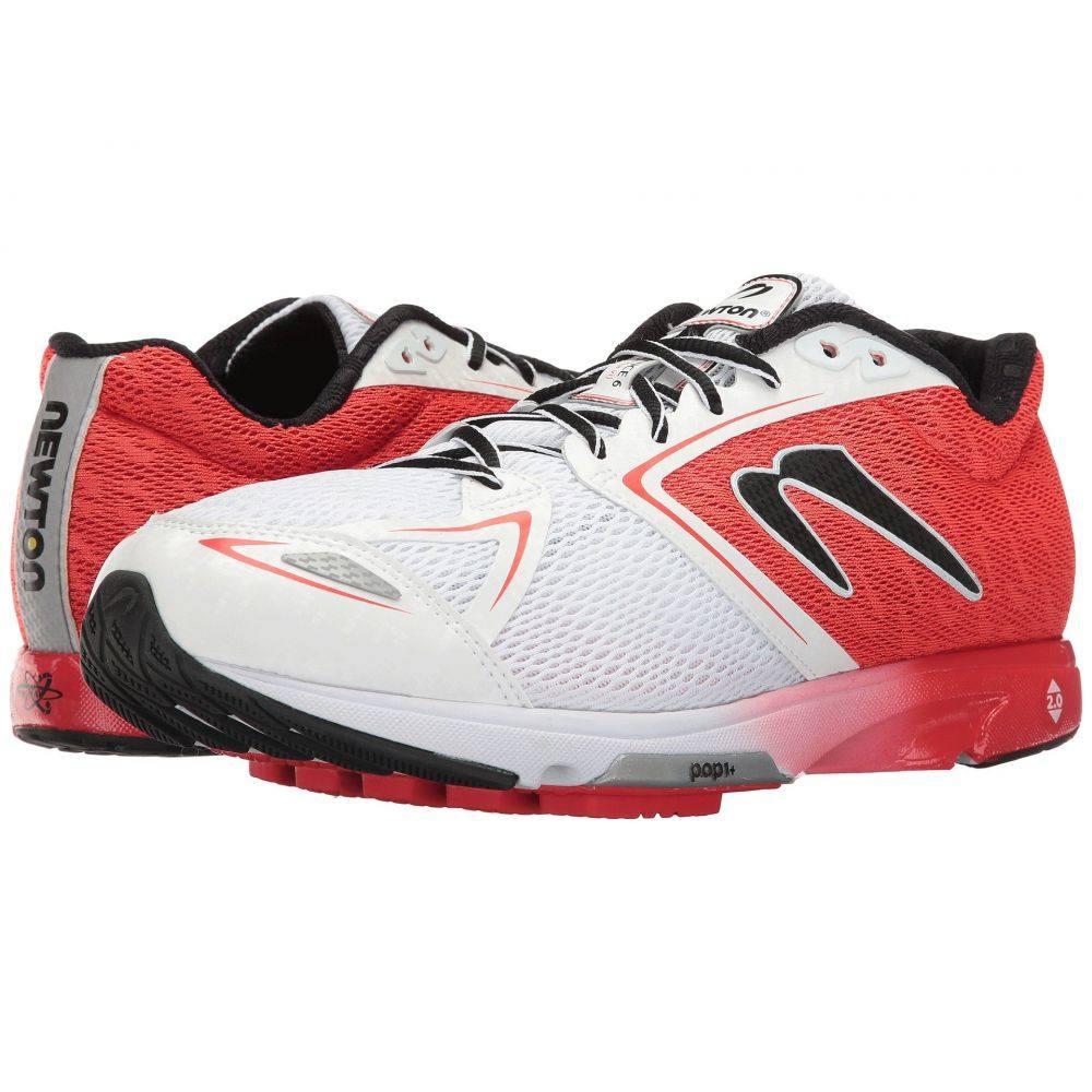 ニュートンランニング メンズ ランニング・ウォーキング シューズ・靴【Distance VI】Red/White