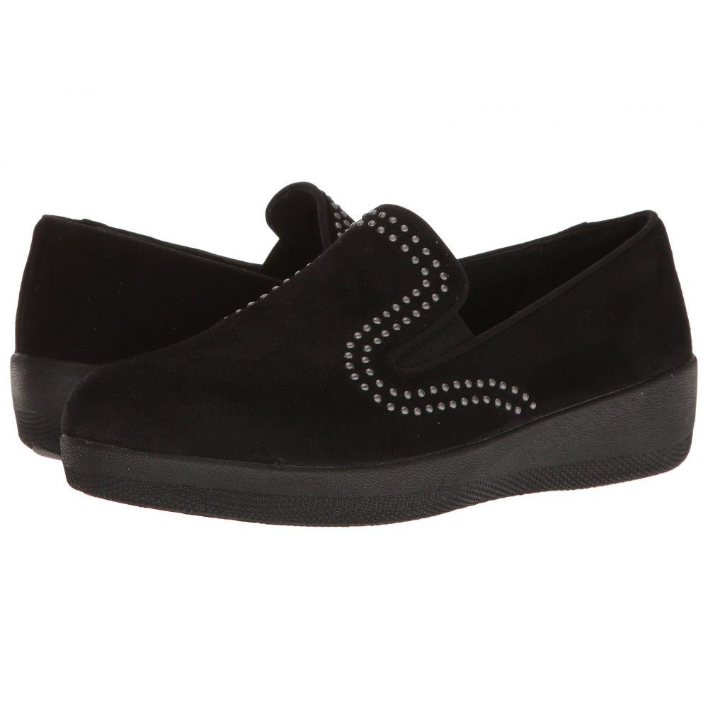 フィットフロップ レディース シューズ・靴【Superskate w/ Studs】Black