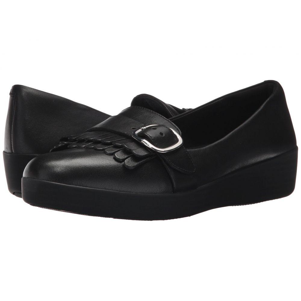 フィットフロップ レディース シューズ・靴 ローファー・オックスフォード【Adjustable Sneakerloafer】Black