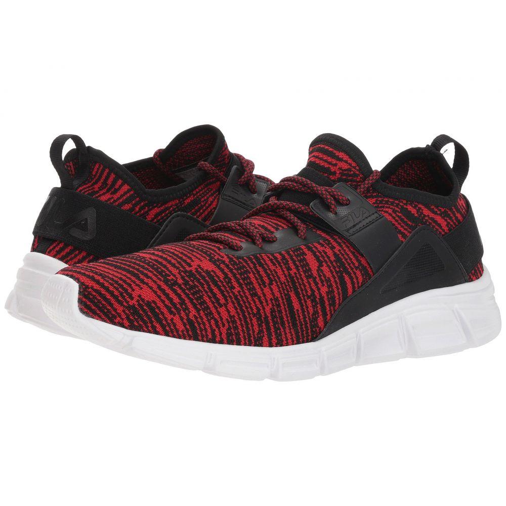 フィラ メンズ ランニング・ウォーキング シューズ・靴【Lombardi Running】Fila Red/Black/White