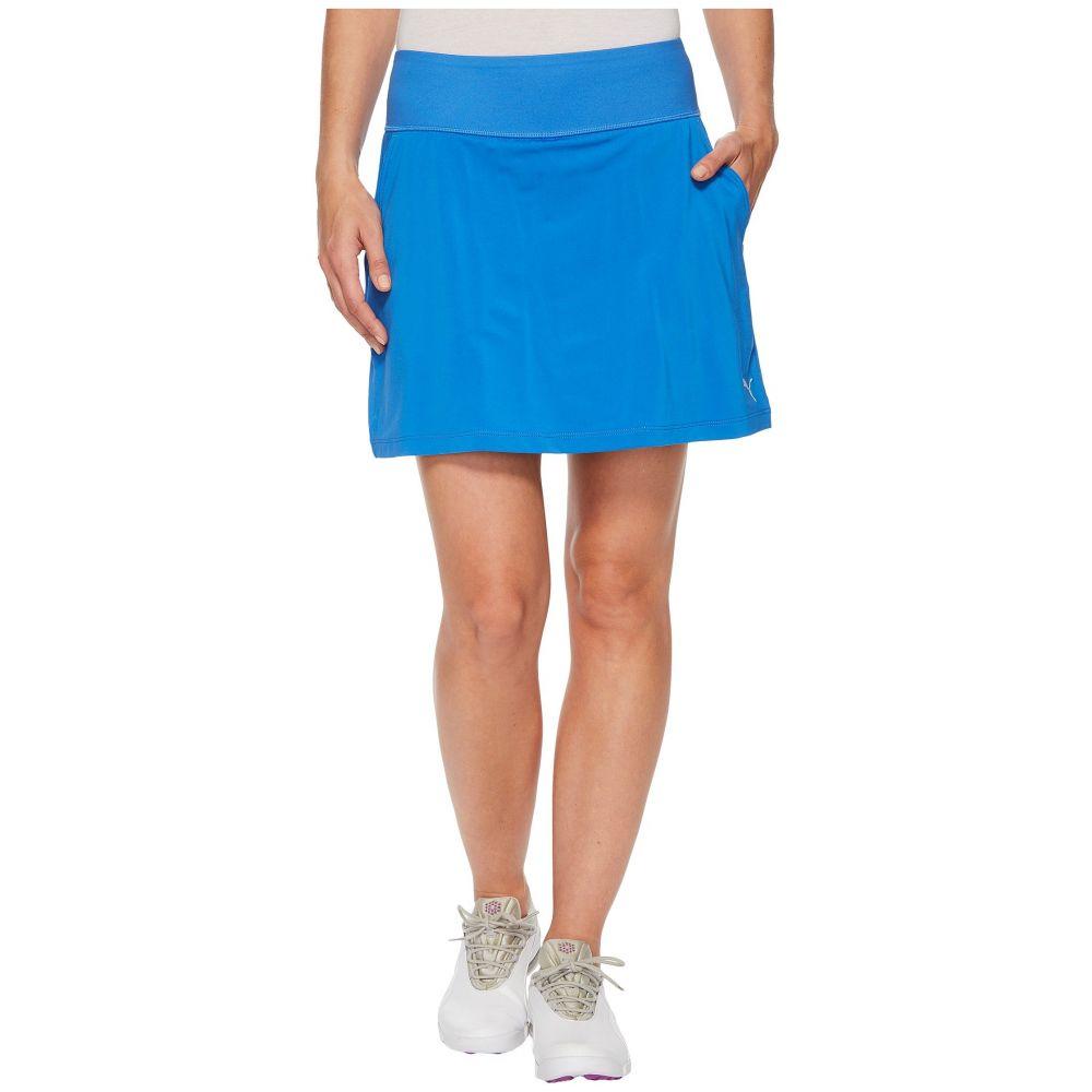 プーマ レディース ゴルフ ボトムス・パンツ【PWRSHAPE Solid Knit Skirt】Nebulas Blue