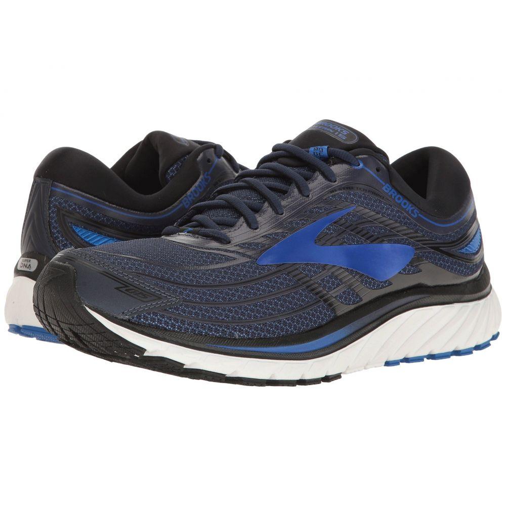 ブルックス メンズ ランニング・ウォーキング シューズ・靴【Glycerin 15】Peacoat Navy/Electric Brooks Blue/Black